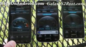 AT&T, T-Mobile, and Sprint Galaxy S2 4G Speed Test!