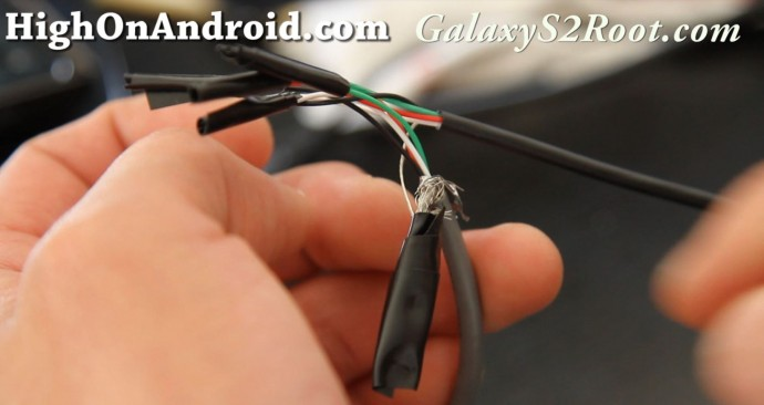 how to make otg usb host cable for galaxy s2 or xoom the