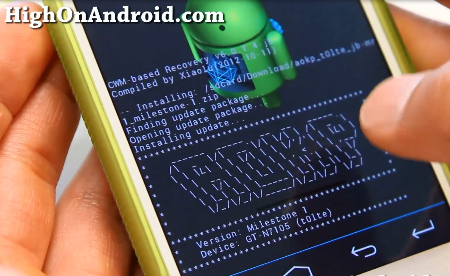 How To Fix Status 7 Error with CWM Recovery on Rooted Android