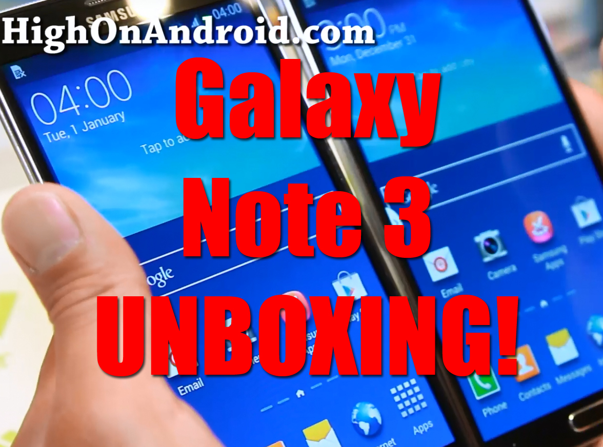 galaxynote3-unboxing