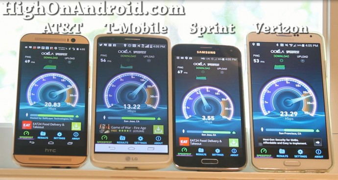 att-tmobile-sprint-verizon-4glte-speedtest
