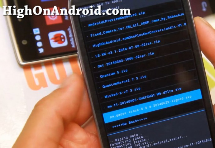 How to Convert your Android Smartphone into OnePlus One