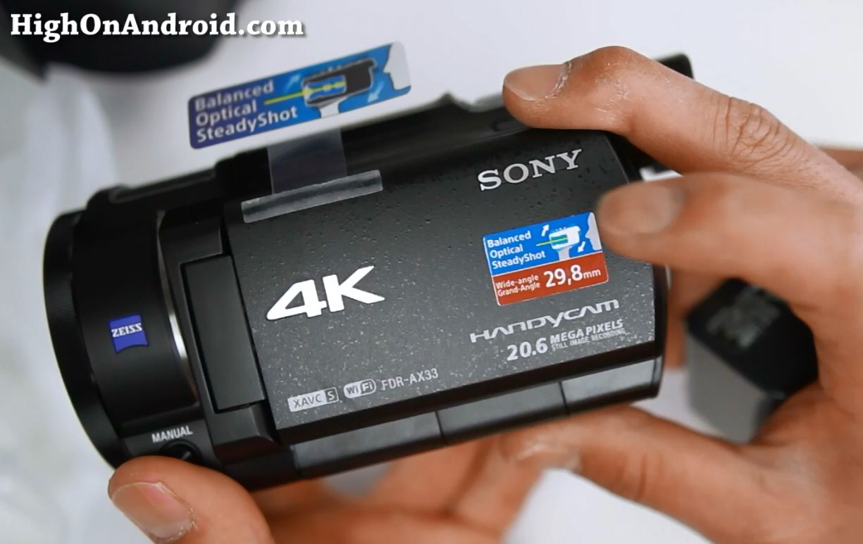 sony-fdr-ax33-4k-camcorder-unboxing