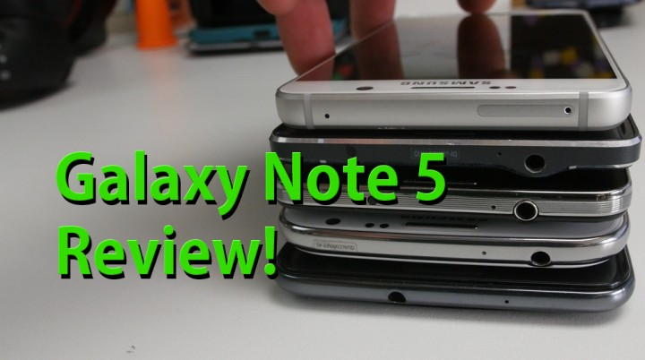 Galaxy Note 5 Review – Best Smartphone of 2015?
