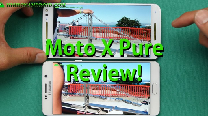 Moto X Pure Review!