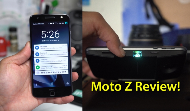 Moto Z/Moto Mods Review!