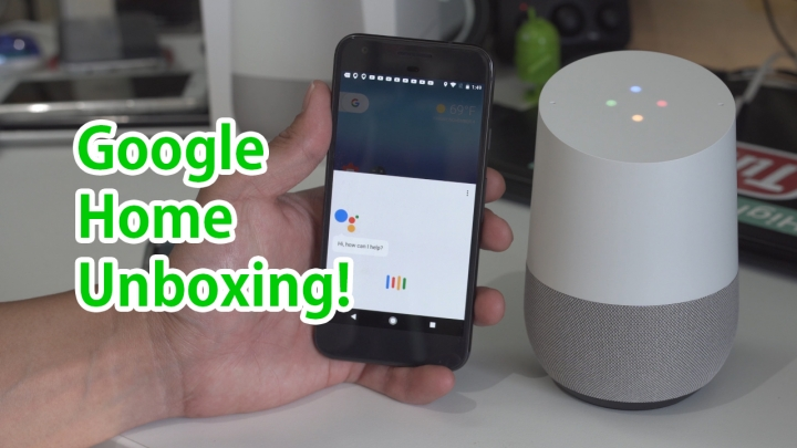 google-home-unboxing