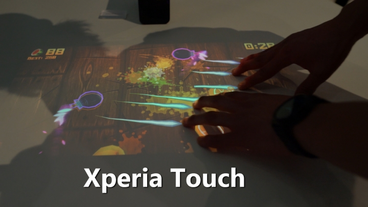 {filename}-Xperia Touch Turns Any Surface Into A Giant Android Tablet! [best Of Mwc 2017]