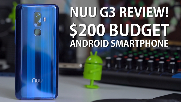 Nuu G3 Review – $200 Budget Android Smartphone!