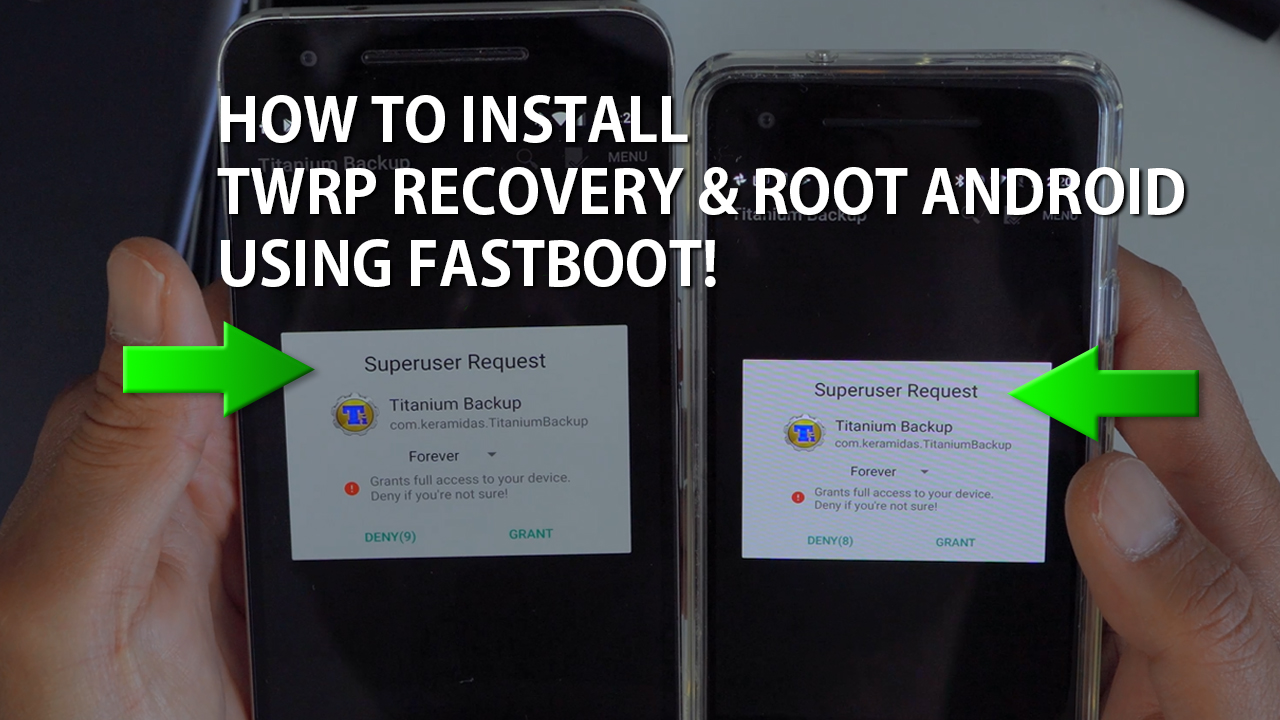 How to Install TWRP Recovery & Root w/ Magisk using Fastboot