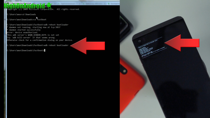 How to Unlock Bootloader on LG Android!   HighOnAndroid com