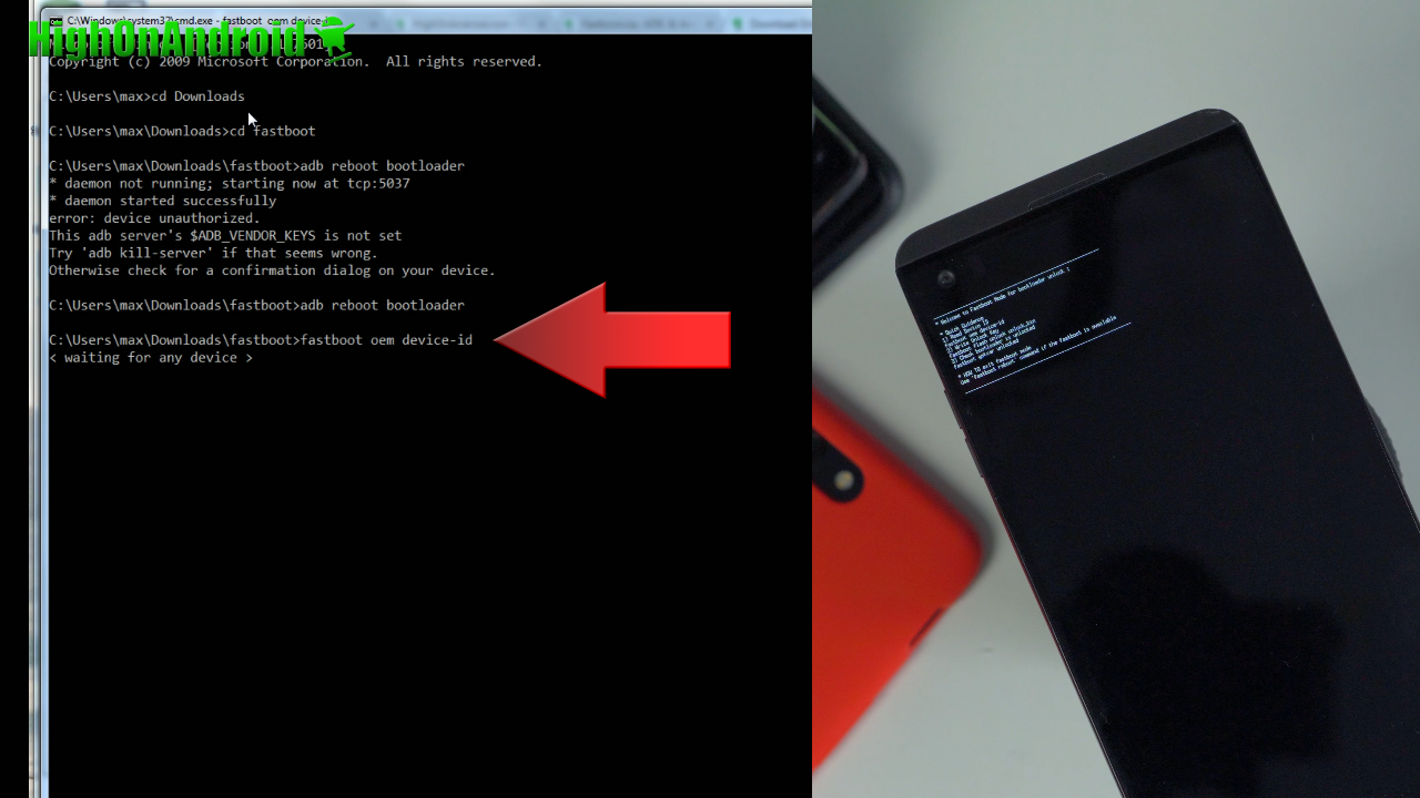 How to Unlock Bootloader on LG Android! | HighOnAndroid com