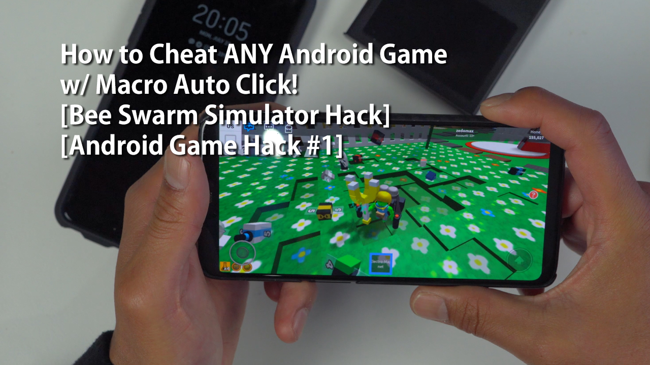 How to Cheat ANY Android Game w/ Macro Auto Click! [Bee Swarm