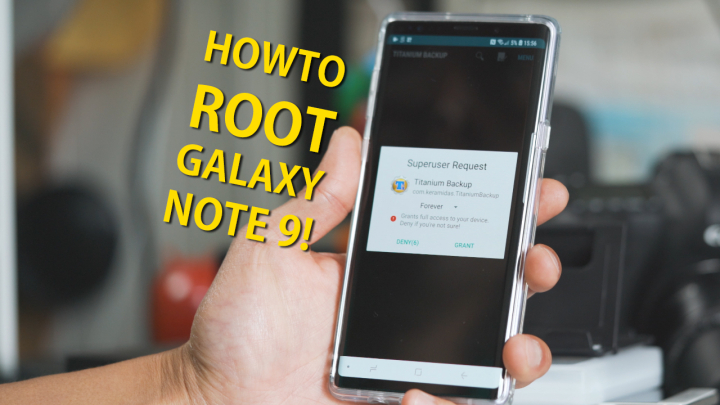 How to Root Galaxy Note 9! | HighOnAndroid com