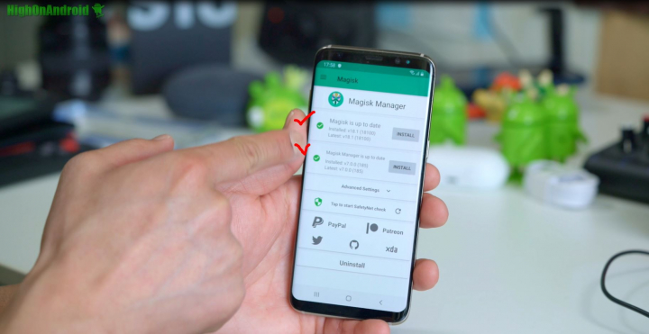 How to Root Galaxy S8/S8+ on Android 9 0 Pie